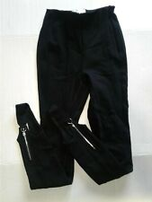 RARE Aritzia Babaton 1-01 Black High Waist Skinny Ponte Leggings Pants Sz 2 XS