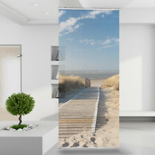 Raumteiler Vorhang Gardine Dünenweg an der Nordsee Natur Strand Düne Strand Sand