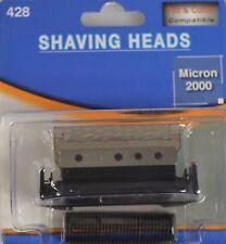 Kombipack Messer+Scherblatt 428 420 passend für Braun Micron Plus universal 5428