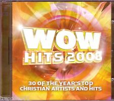 WOW Hits 2008 2CD Classic Christian Rock Pop CHRIS TOMLIN TOBYMAC THIRD DAY
