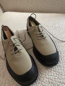 Mens Camper Pix shoes, beige and black, size 44  K100360