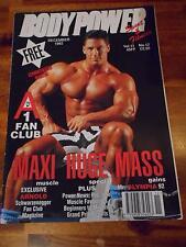 BODYPOWER bodybuilding magazine/DENNIS NEWMAN/Arnold Schwarzenegger 12-92 (UK)