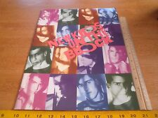 1989 New Kids on the Block Hangin Tough concert tour program