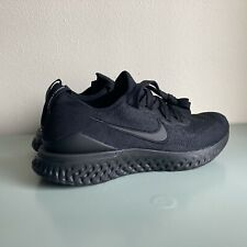 Nike Epic React Flyknit Triple Black BQ8927-011 Size 9.5 Womens Running Athletic