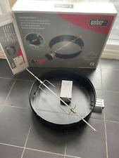 More details for official weber 57cm kettle rotisserie boxed