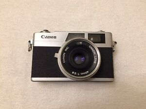 (TESTED) Canon Canonet 28 35mm Rangefinder Film Camera New Light Seals