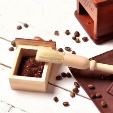 Coffee Grinder Cleaning Brush Natural Wood Handle Dusting Cleaner Accessories