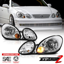 1998-2005 LEXUS GS300 GS400 GS430 Replacement Headlights Headlamps Left Right