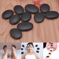 10PCS Lot Hot Spa Rock Basalt Stone Beauty Stones Massage Lava Natural Stone QL