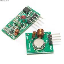 RF Wireless Transmitter & Receiver 433Mhz with Aerial -wireless transmission kit