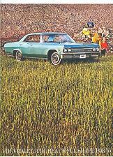 1965 CHEVROLET IMPALA, BEL AIR BISCAYNE & STATION WAGON  SALES BROCHURE