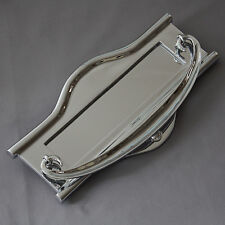 Large Chrome Art Nouveau Letterbox