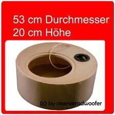 """Reserveradgehäuse für 30cm / 12"""" Woofer, Größe L mit 31 Liter Volumen"""