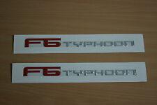 Set of 2 FPV Typhoon Badge For BA BF Series F6/R Spec Side Skirt Badges