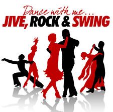 CD DANCE WITH ME Jive, Rock And Swing von Varios Artistas 2cds