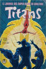 BD--TITANS N° 138--STAN LEE--SEMIC / JUILLET 1990