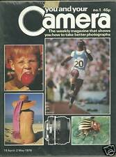 You and Your Camera UK Magazine FIRST ISSUE April 1979 Candy Apple Track