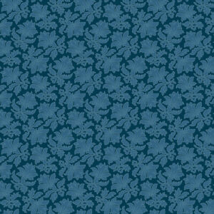Cotton fabric Makower Annabella Damask blue 2/9718B fat quarters-metre quilting