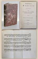 Voß: Shakespeare's Othello 1806 - mit 3. S. Musiknoten, Theaterstück Tragödie xz