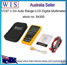 VC97 Auto-Ranging Digital Multimeter Electronic Measuring Instrument LCD Display