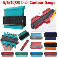 Plastic Profile Copy Gauge Contour Gauge Duplicator Wood Tiles Marking Tool Kits