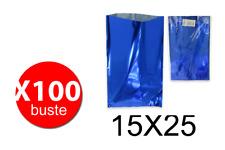 Balmar PF600402 - Taschen Geschenk Mtg-Größe - Blau - 15X25 - Conf. 100 Stk