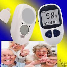 Electronic Handheld Blood Glucose Diabetes Test Meter Monitor 50 lancets USA FDA
