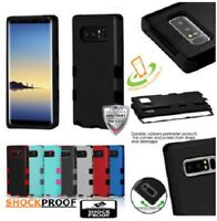 For Samsung GALAXY S10 PLUS E Hybrid Rugged TPU Shockproof Protective Case Cover