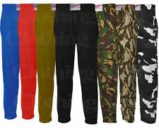 Mens Baggy Camouflage Bodybuilders Yoga Elasticated Gym Pants Cotton Trousers