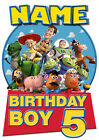 Toy Story Birthday Personalised Boys Girls T-Shirt Age 5 Ideal Gift/Present
