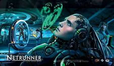 TAPPETINO PLAY MAT PLAYMAT Android Netrunner Card Game: Creation and Control