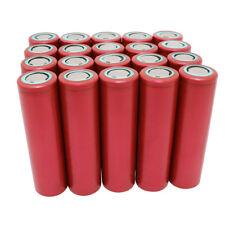 20PCS 18650 Battery INR 3000mAh 3.7V 30A Li-ion High Drain Rechargeable for Vape
