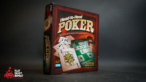 Head To Head Poker Board Game Parker Brothers