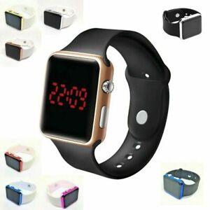 LED Digital Screen Wrist Sport Watch / Men Women Unisex Boys Girls Kids UK POST