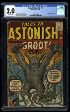 Tales To Astonish #13 CGC GD 2.0 Off White 1st Groot Guardians of the Galaxy!
