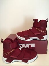 Nike Lebron Zoom Soldier 10 Christ The King CTK Team Red Maroon 9.5 844374 668