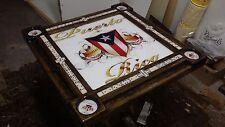 Orgullo de Puerto Rico Domino Table by Domino Tables by Art