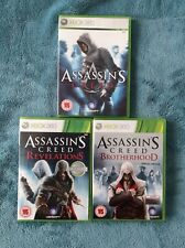 Assassin's Creed Bundle: Original, Brotherhood & Revelations Xbox360
