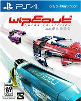 BRAND NEW SEALED Wipeout Omega Collection Combat Race PS4 GAME Playstation 4