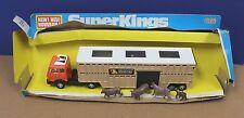 Matchbox Super Kings K-8 D Mercedes Animal Transporter VNM Boxed 1980 Lesney