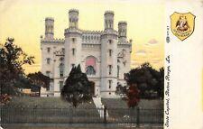 Baton Rouge Louisiana 1908 Postcard State Capitol