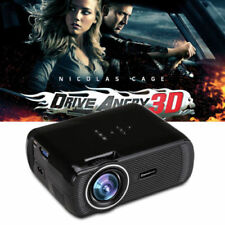 7000lumens HD Multimedia LCD Projector Home Cinema Theater HDMI USB AV 1080p Top
