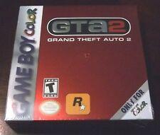 Grand Theft Auto 2  (Nintendo Game Boy Color, 2000)  GTA 2  +  PLASTIC PROTECTOR