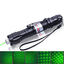 3000MW Green Laser Flashlight 8000M Aluminum Alloy Outdoor Gypsophila Laser Pen