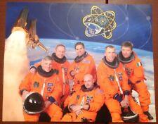 "NASA SPACE SHUTTLE ENDEAVOUR STS-134 AMS Fustel Vittori Fincke Johnson 11"" X 14"""