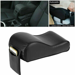 Car PU Memory Foam Center Armrest Console Box Cushion Pad Universal Comfortable