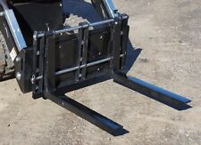 Cormidi pallet forks and mounting plate model 80 self loader