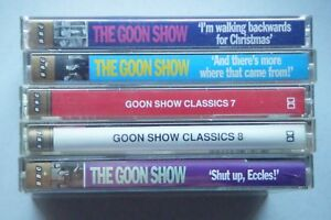 The Goon Show: BBC Radio Collection Cassettes Box Sets