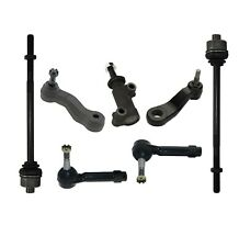 7 New Pc Sway Bar Tie Rods Idler & Pitman Arms Kit for Cadillac Chevrolet GMC