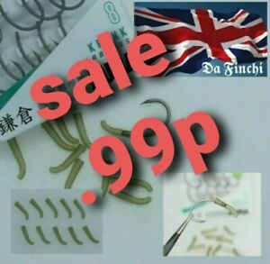 CARP FISHING kicker/line aligners green ideal for hook sizes 8 to 6 medium size